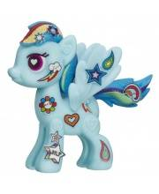 Пони My Little Pony Pop Рейнбоу Деш HASBRO