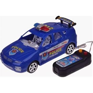 Игрушки, Машина Полиция на д/у с пультом S+S Toys , фото