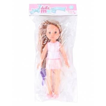 Ликвидация, Кукла с расческой в ассортименте DOLL&ME 228770, фото
