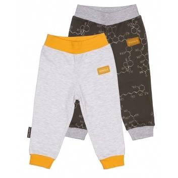 Малыши, Комплект брюк 2 шт Lucky Child (серый)259396, фото