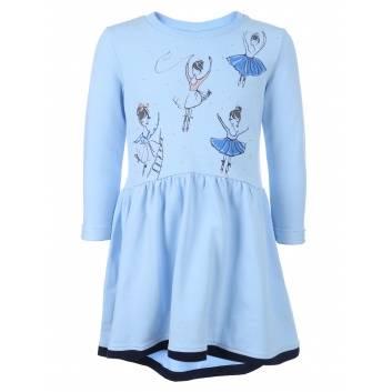 Девочки, Платье Goldy (голубой)256561, фото