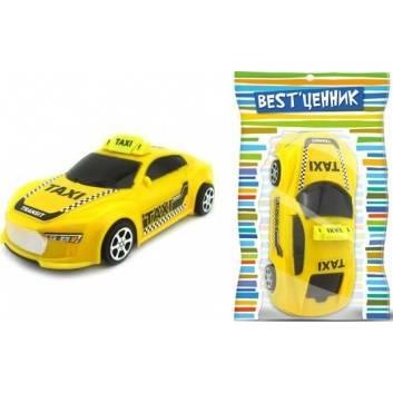 Ликвидация, Машина такси инерционная S+S Toys 244898, фото