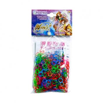 Творчество, Набор Winx фенечки-восьмёрки 300 резинок 1Toy 245175, фото