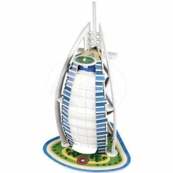 Ликвидация, Пазл Burj Al Arab Hotel 3D 17 деталей S+S Toys 245005, фото