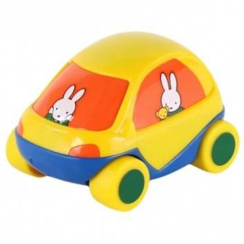 Игрушки, Машинка забавная детская Миффи №1 Полесье 246006, фото