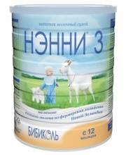 Сухой молочный напиток НЭННИ 3 на основе козьего молока от 12 месяцев 800 г Нэнни