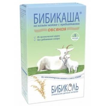 Питание, БИБИКАША Овсяная на козьем молоке с пребиотиками 200 г Бибикаша 258815, фото