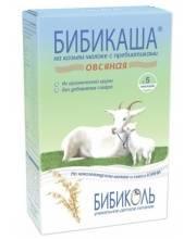 БИБИКАША Овсяная на козьем молоке с пребиотиками 200 г Бибикаша
