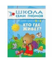 Книга Школа Семи Гномов Третий год обучения Кто где живет Денисова Д.