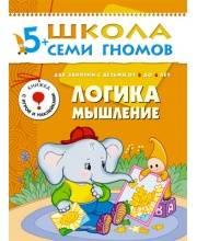 Книга Школа Семи Гномов Шестой год обучения Логика мышление Денисова Д.