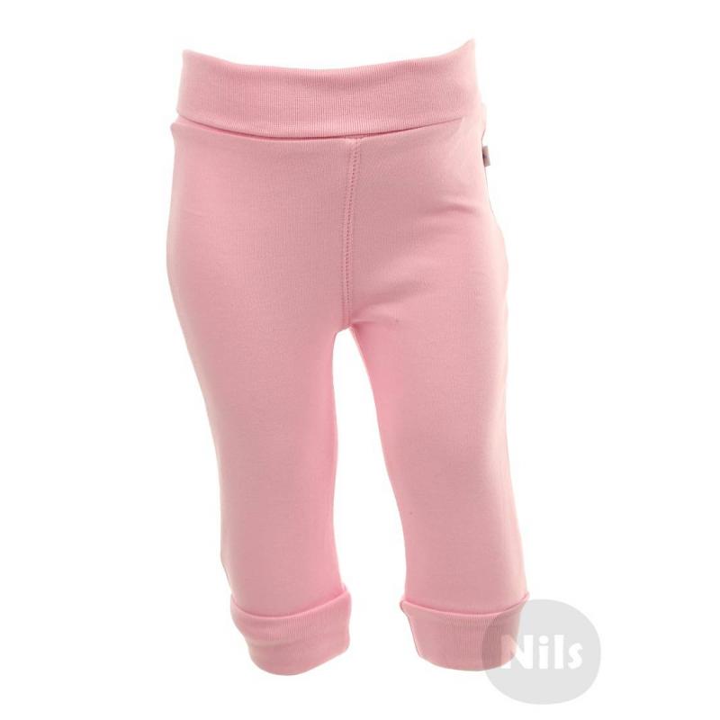 БрюкиРозовыетрикотажные брюки марки BLUE SEVEN для девочек. Брюки для малышей из стопроцентного хлопкового трикотажа, пояс и манжеты на штанинах с отворотами.<br><br>Размер: 2 месяца<br>Цвет: Розовый<br>Рост: 56<br>Пол: Для девочки<br>Артикул: 602005<br>Страна производитель: Бангладеш<br>Сезон: Всесезонный<br>Состав: 100% Хлопок<br>Бренд: Германия