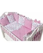 Комплект бортиков в кроватку La Foret Rose Ma Licorne