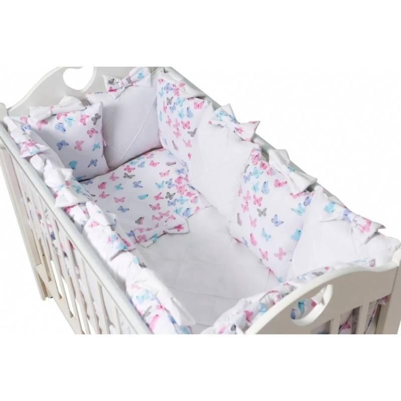 0c450bd1261 ... Малыши, Комплект бортиков в кроватку La Papillon Rose Ma Licorne  (розовый), фото