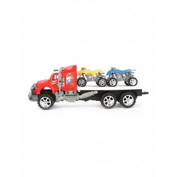 Ликвидация, Автовоз с машинами инерционный S+S Toys 229247, фото