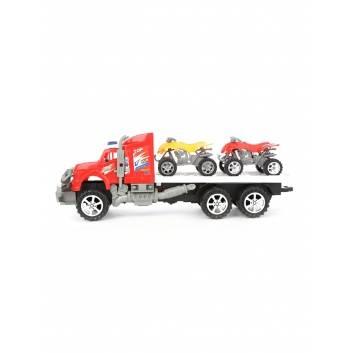 Игрушки, Автовоз с машинами инерционный S+S Toys , фото
