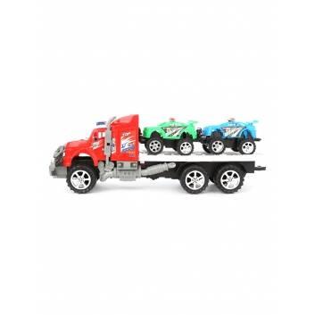 Ликвидация, Автовоз с машинами инерционный S+S Toys , фото