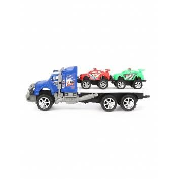 Игрушки, Автовоз с машинами инерционный S+S Toys 229250, фото