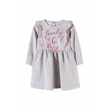 Девочки, Платье 5.10.15. (серый)258204, фото