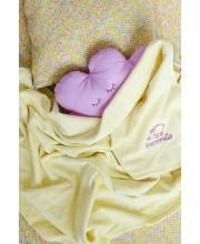 Детское постельное белье Yellow Hearts