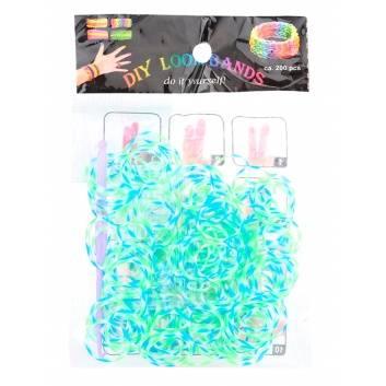 Творчество, Резинки для плетения Трехцветные Loom Bands 229180, фото