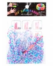 Резинки для плетения Трехцветные Loom Bands