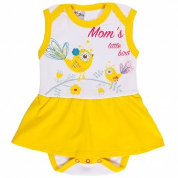 Малыши, Боди-платье Viva Baby (белый)260050, фото