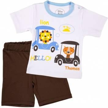 Малыши, Комплект 2 предмета Viva Baby (коричневый)259990, фото