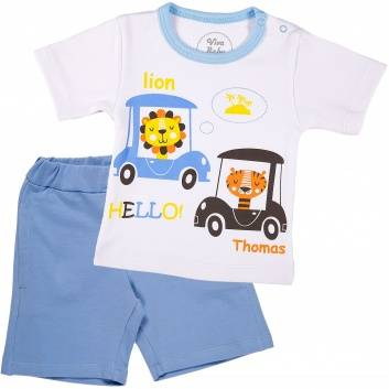 Малыши, Комплект 2 предмета Viva Baby (голубой)259993, фото