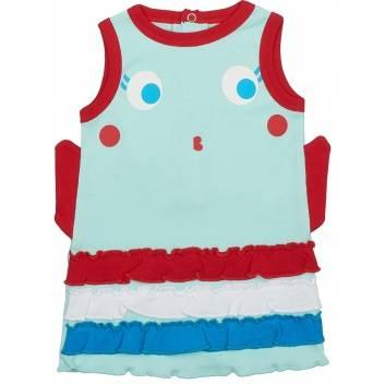 Малыши, Платье Viva Baby (бирюзовый)260059, фото