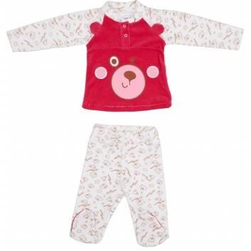 Малыши, Комплект 2 предмета Viva Baby (малиновый)260153, фото