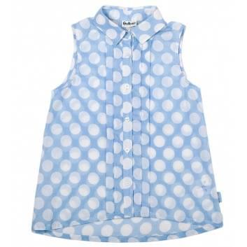 Девочки, Блузка Gulliver (голубой)229659, фото