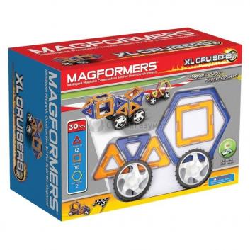 Игрушки, Магнитный конструктор XL Cruisers Машины MAGFORMERS 629254, фото