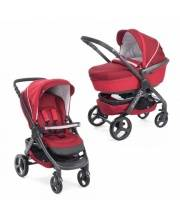 Коляска 2в1 Stylego Red Passion Chicco