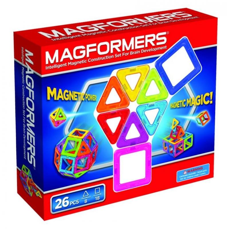 MAGFORMERS Магнитный конструктор 26 деталей конструктор деревянный лесовичок разборный домик 7