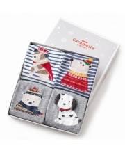 Комплект носков Зимний мишка 4 пары