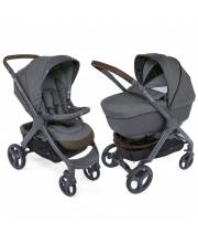 Коляска 2в1 Duo Stylego Up Crossover Cool Grey Chicco
