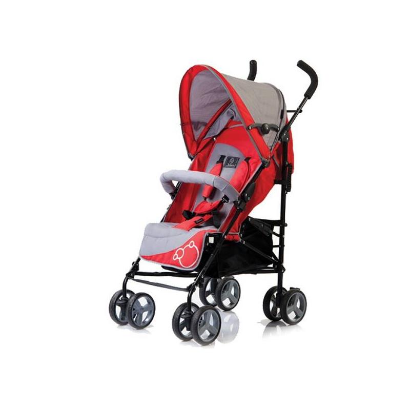 Коляска-трость Picnic S-102Современные практичные родители по достоинству оценят коляску-трость от немецкого бренда Jetem Picnic S-102. Она отлично выглядит, имеет небольшой вес, легко раскладывается и сделано из износостойких прочных материалов, полностью безопасных для здоровья малыша.Спинка коляски предусматривает 5 разных положений, включая в себя самое удобное для сна – горизонтальное. При этом, подножка также регулируется в несколько положениях, которые позволят удобно расположить кроху в коляске – сидя, полулежа и лежа. Большой широкий капюшон превосходно убережет малыша от солнечных лучей и непогоды, он раскладывается до самого бампера.Прочные колеса сделаны из прочного морозостойкого материала с добавлением каучука. Передние сдвоенные колеса отвечает за маневренность и повороты, на них установлен фиксатор и мягкие пружины, которые амортизируют коляску. На задних колесах есть стояночный тормоз.5-точечные ремни безопасности и мягкий бампер отлично защитят малыша во время прогулок и позволят крепко, но бережно зафиксировать кроху в коляске.Максимальный вес ребенка: 18 кг.Для возраста: от 6 месяцев до 3 лет.Вес коляски: 7,9 кг.Диаметр колес:16 см.Размеры в разложенном виде ШхДхВ: 49 x 68 x 110 см.В комплект идет: утепленный чехол на ножки, дождевик.Механизм складывания:трость.<br><br>Цвет: Красный<br>Возраст от: 6 месяцев<br>Пол: Не указан<br>Артикул: 628756<br>Страна производитель: Китай<br>Бренд: Германия<br>Размер: от 6 месяцев до 3 лет<br>Механизм складывания: Трость<br>Колеса: Пластиковые<br>Количество блоков: 1<br>Количество колес: 8