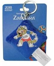 Брелок-подушечка плюшевая Zabivaka FIFA 2018