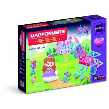 Игрушки, Магнитный конструктор Princess Set MAGFORMERS 629266, фото