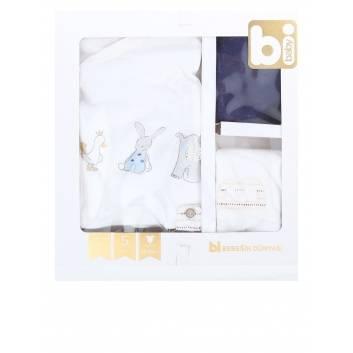 Малыши, Подарочный набор 5 предметов BIBABY (синий)237801, фото