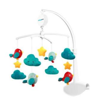 Игрушки, Универсальная карусель Птички и Облачка BabyOno 229842, фото