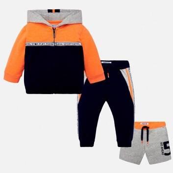 Малыши, Комплект 3 предмета  MAYORAL (оранжевый)267535, фото