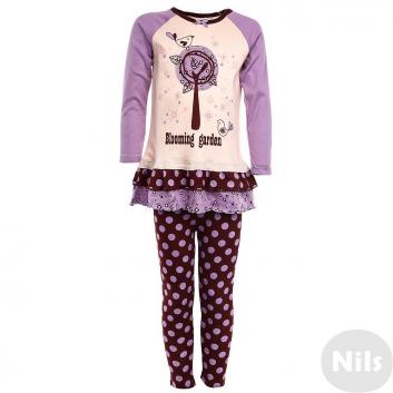 Девочки, Пижама Модамини (розовый)629089, фото