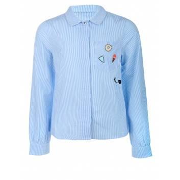 Девочки, Рубашка Coccodrillo (голубой)242537, фото