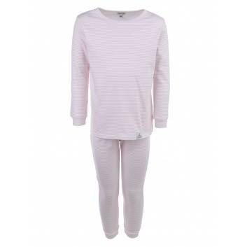 Девочки, Пижама Pink stripes Pecorella (розовый)259932, фото