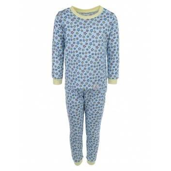 Малыши, Пижама Stars blue Pecorella (голубой)259938, фото