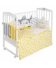 Комплект в кроватку Gioia Giallo 4 предмета Sweet Baby