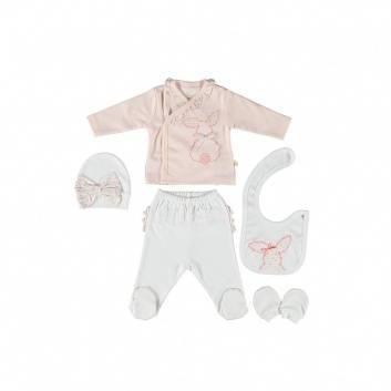 Малыши, Подарочный набор 5 предметов BIBABY (персиковый)237799, фото