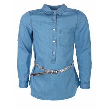 Девочки, Блузка Coccodrillo (голубой)242543, фото