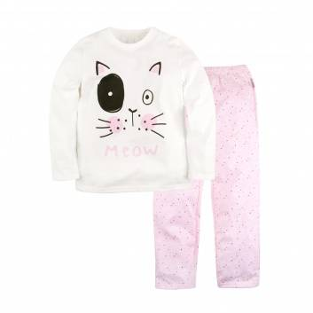 Девочки, Пижама Meow Bossa Nova (розовый)183039, фото